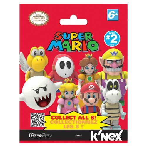 K'NEX Nintendo Super Mario Bros. Wave 2 Mystery Bag 4-Pack
