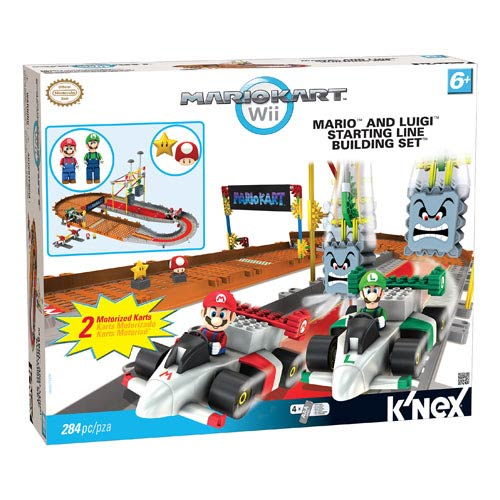 Nintendo Mario Kart Mario and Luigi Starting Line Playset