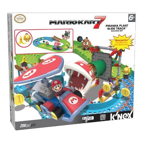 Nintendo Mario Kart Piranha Plant Slide Track Building Set