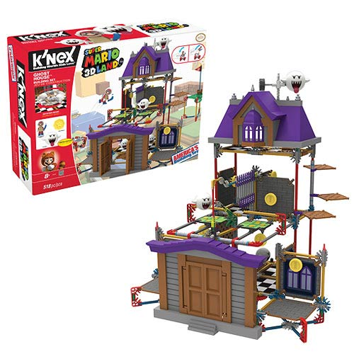 Nintendo Super Mario Bros. Ghost House Building Playset
