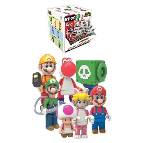 1cb3aa2b8d7a K NEX Nintendo Super Mario Bros. Wave 10 Mystery Bag 4-Pack Entertainment  Earth Out of Stock  14.99