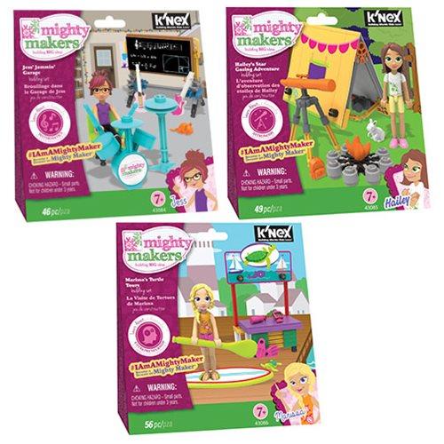 K'NEX Mighty Makers Figure Packs Series 1 Case