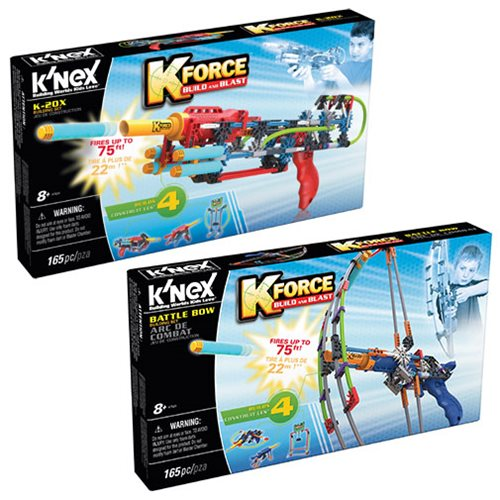 K'NEX K-Force K-20x and Battle Bow Building