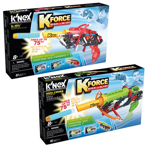K'NEX K-Force K-10v and Mini-Cross Building Set