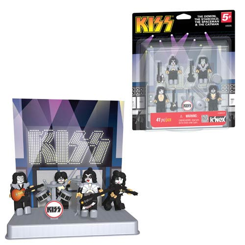K'NEX KISS Wave 1 Buildable Figures Set