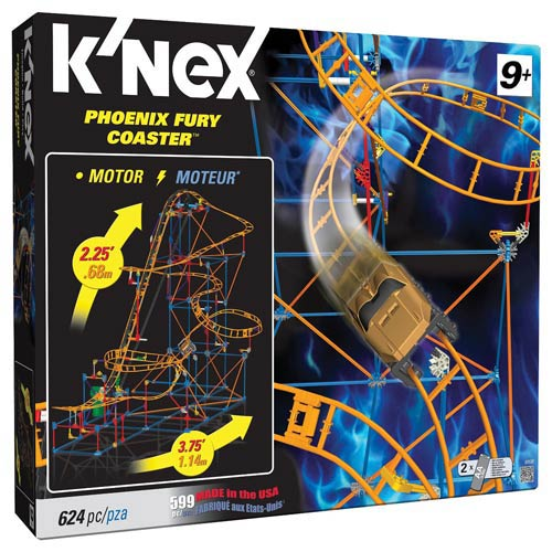 K'NEX Phoenix Fury Coaster Building Set