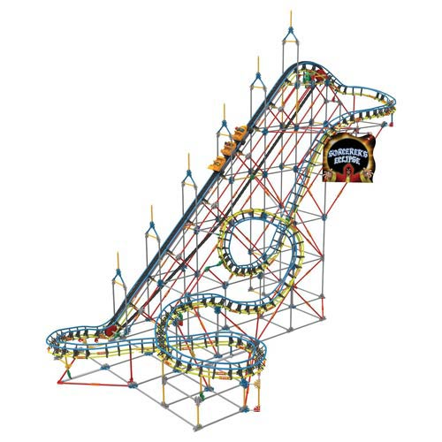K 39 Nex Sorcerer 39 S Eclipse Rollercoaster Building Set Knex