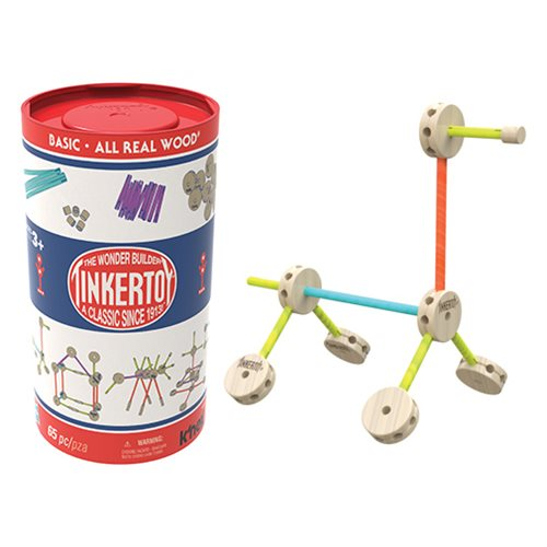 K'NEX Tinkertoy 65 Piece Basic Set