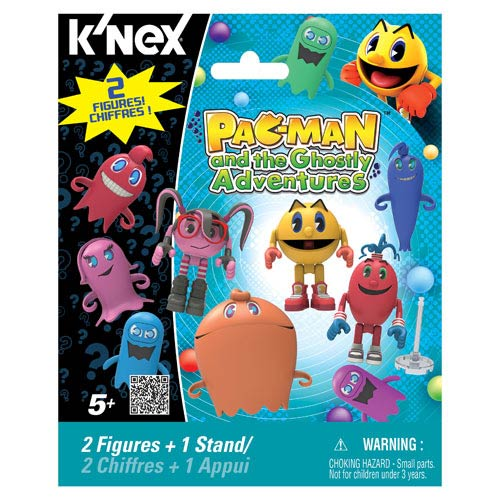 K'NEX Pac-Man and the Ghostly Adventures Mystery Figure Case
