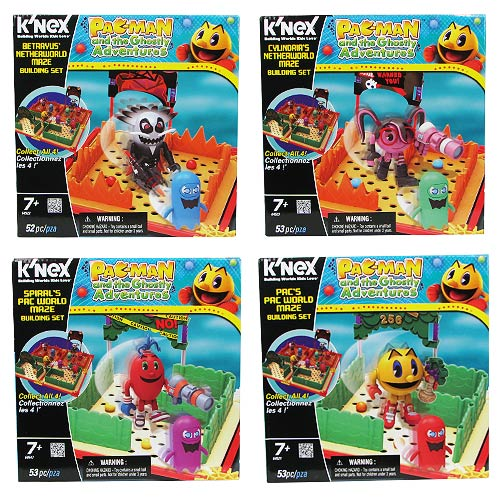 K'NEX Pac-Man and the Ghostly Adventures Maze Playset Set