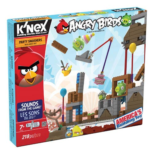 K'NEX Angry Birds Party Smashers Building Set
