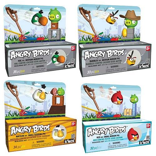 K'NEX Angry Birds Starters Playset Set