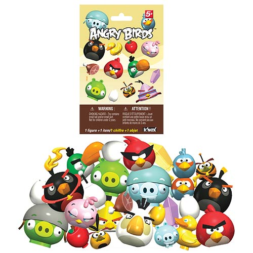 K'NEX Angry Birds Mystery Series 2 Blind Bag Figure 6-Pack