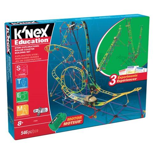 K'NEX Stem Explorations Roller Coaster Building Set