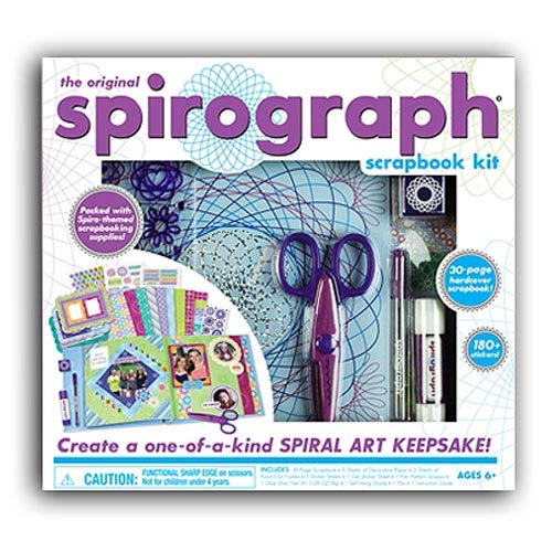 Spirograph Scrapbook Kit