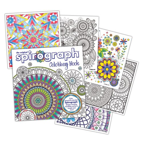 Spirograph Adult Coloring Book