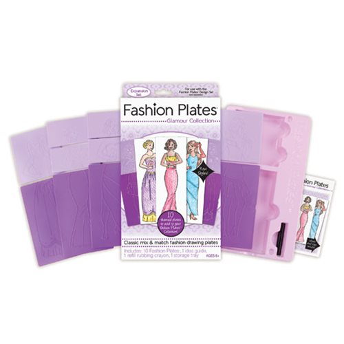 Fashion Plates Glamour Expansion Pack
