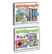 Spirograph Paint Canvas and String Art Kit Set