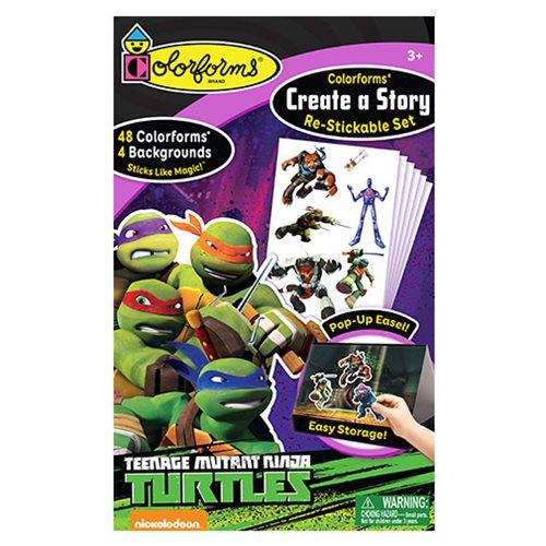 Colorforms Create-A-Story Teenage Mutant Ninja Turtles Set