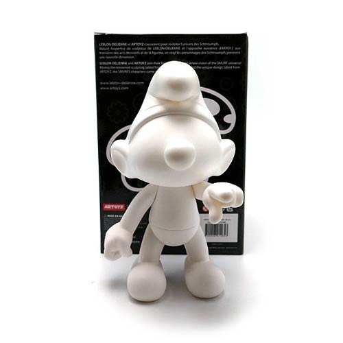 Smurfs White DIY Monochrome Vinyl Figure