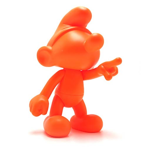 Smurfs Orange Monochrome Vinyl Figure