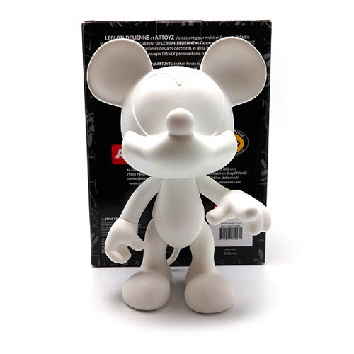Mickey Mouse White DIY Monochrome Vinyl Figure