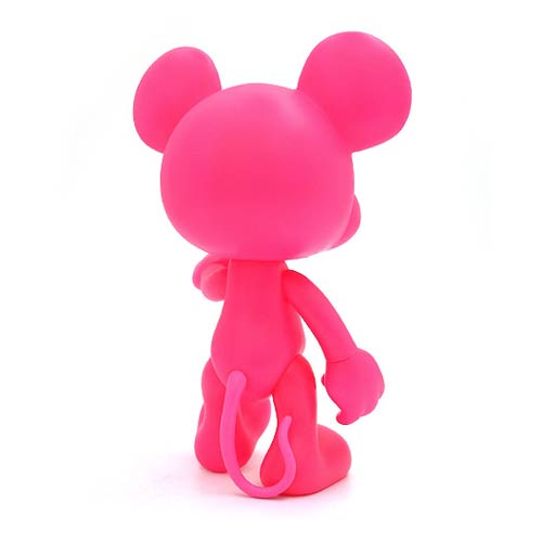 Mickey Mouse Pink Monochrome Vinyl Figure