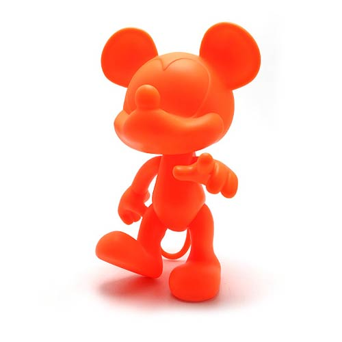Mickey Mouse Orange Monochrome Vinyl Figure