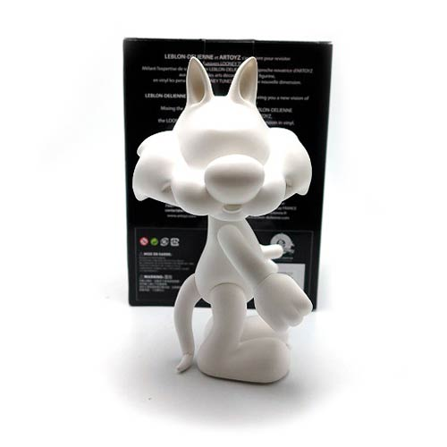 Looney Tunes Sylvester White DIY Monochrome Vinyl Figure