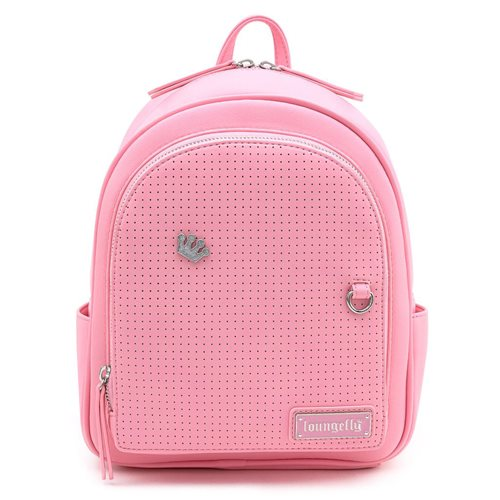 Loungefly Pink Pin Trader Mini-Backpack