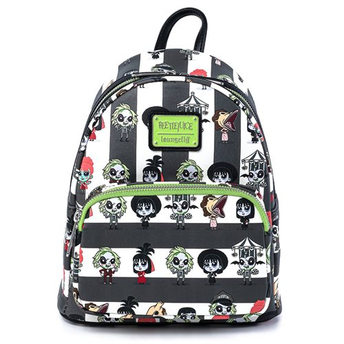 Beetlejuice Chibi Characters Mini-Backpack