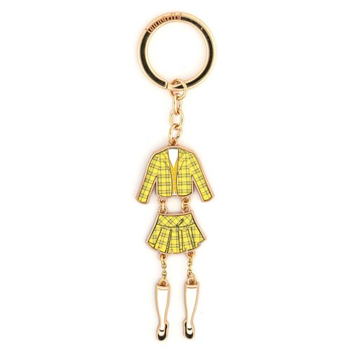 Clueless Cher Outfit Enamel Key Chain