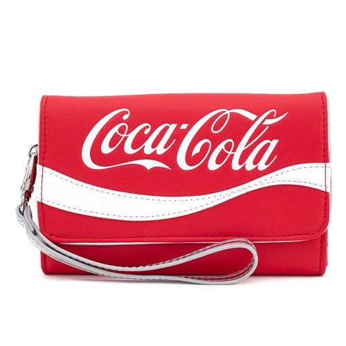 Coca-Cola Logo Wristlet Wallet