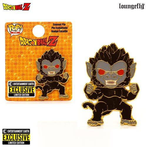 Dragon Ball Z Great Ape Enamel Pop! Pin – EE Exclusive