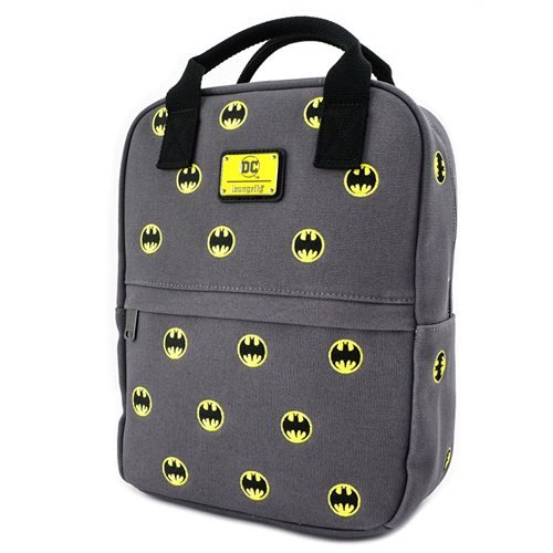 Batman Canvas Embroidered Backpack