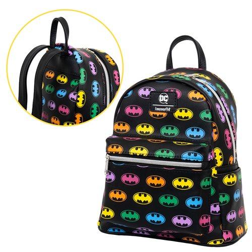 Batman Rainbow Logo Mini-Backpack – EE Exclusive