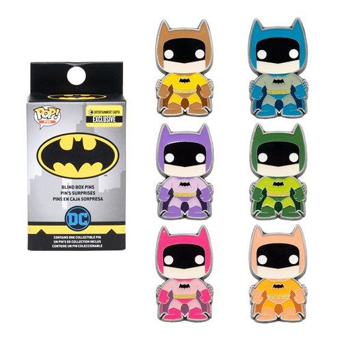 Batman Rainbow Pop! Blind-Box Enamel Pin – EE Exclusive