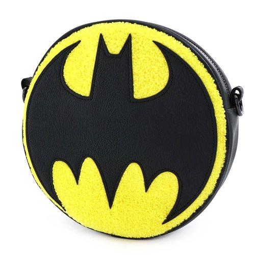 Batman 80th Anniversary Chenille Canteen Bag