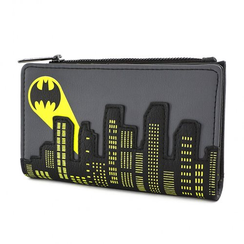 Batman Bat Signal Flap Wallet