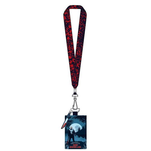 Friday the 13th Camp Crystal Lake Lanyard with Cardholder
