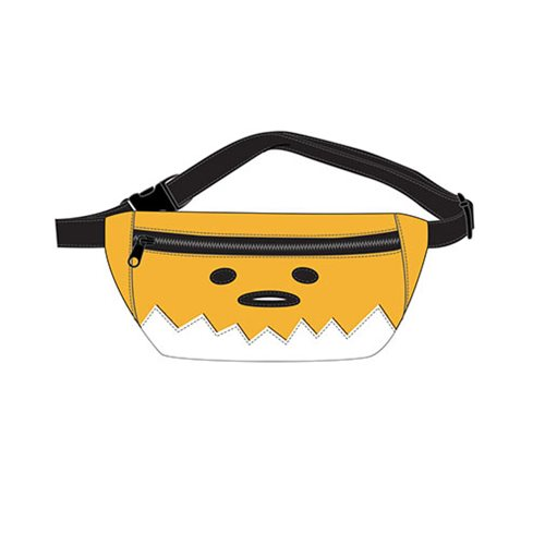 Gudetama Face Faux Leather Fanny Pack