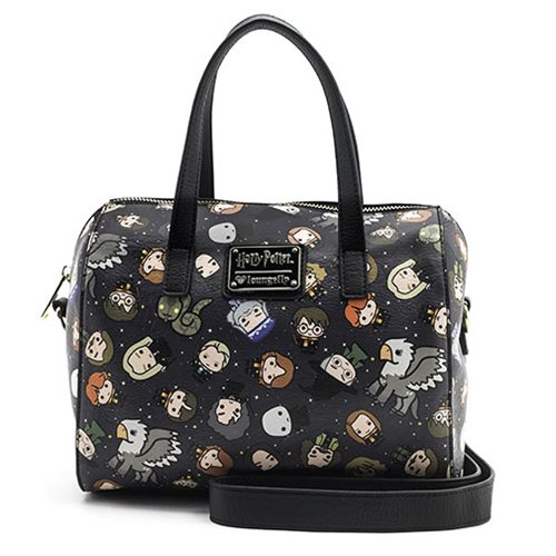 Harry Potter Chibi Character Print Duffle Purse
