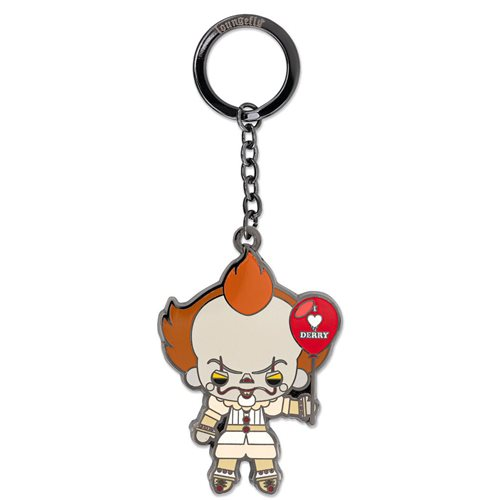 IT Pennywise I Love Derby Balloon 2 1/2-Inch Key Chain