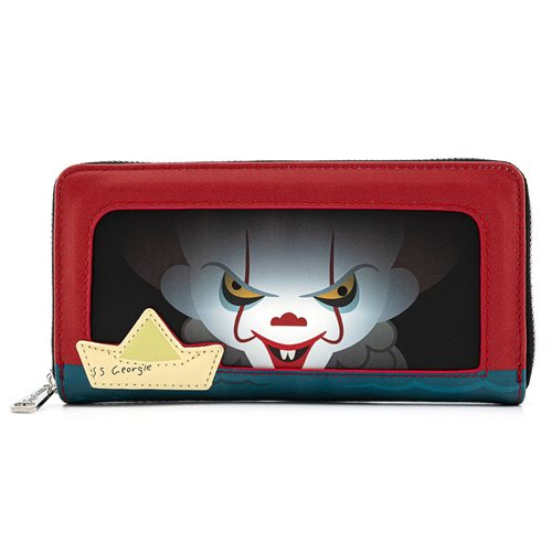 IT Pennywise Sewer Scene Flap Wallet