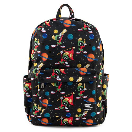 Looney Tunes Marvin the Martian Space Nylon Backpack