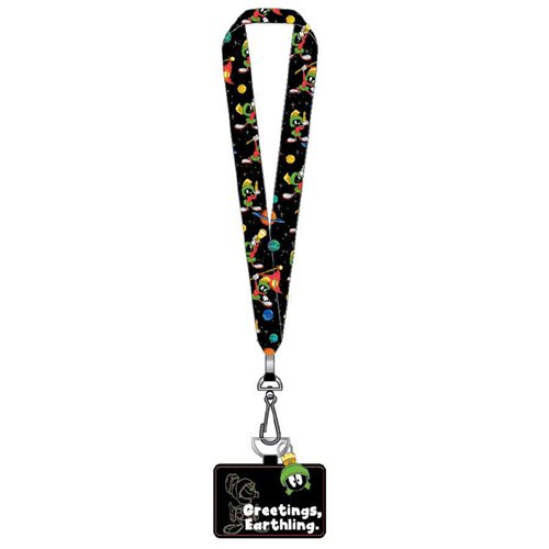 Looney Tunes Marvin the Martian Lanyard with Cardholder