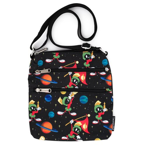Looney Tunes Marvin the Martian Space Nylon Passport Bag