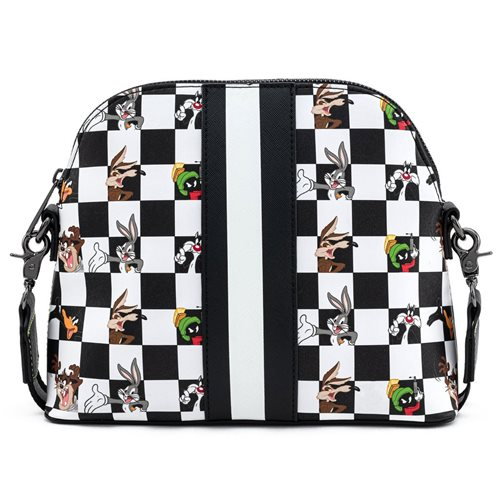 Looney Tunes Checkered Character Crossbody Purse