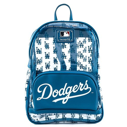 MLB Los Angeles Dodgers Clear Mini-Backpack