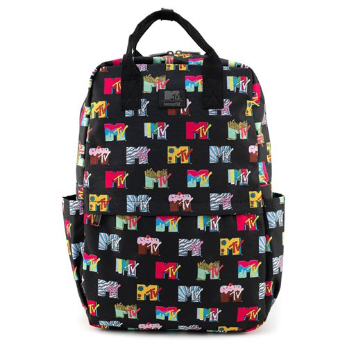 MTV Logos Nylon Backpack